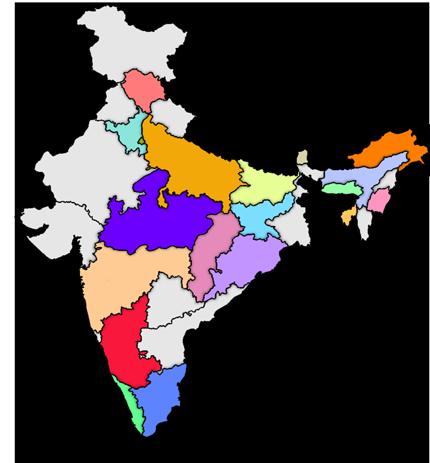 Serviceplus 2 map of india altavistaventures Image collections